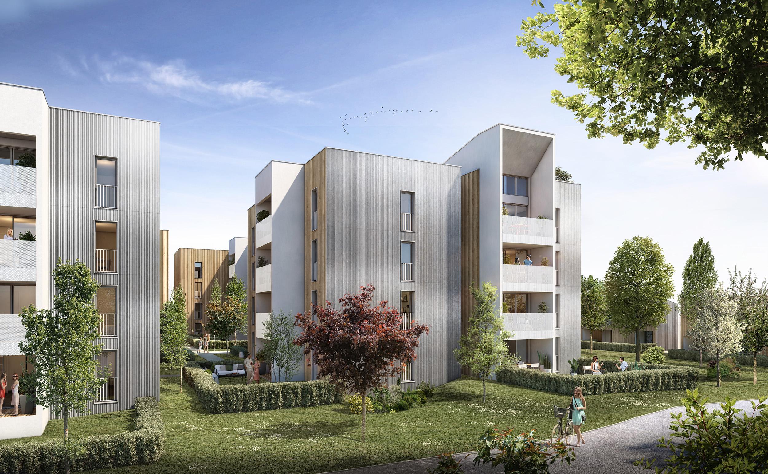 Eclisse Promotion - résidence Infinity Le Palays à Toulouse