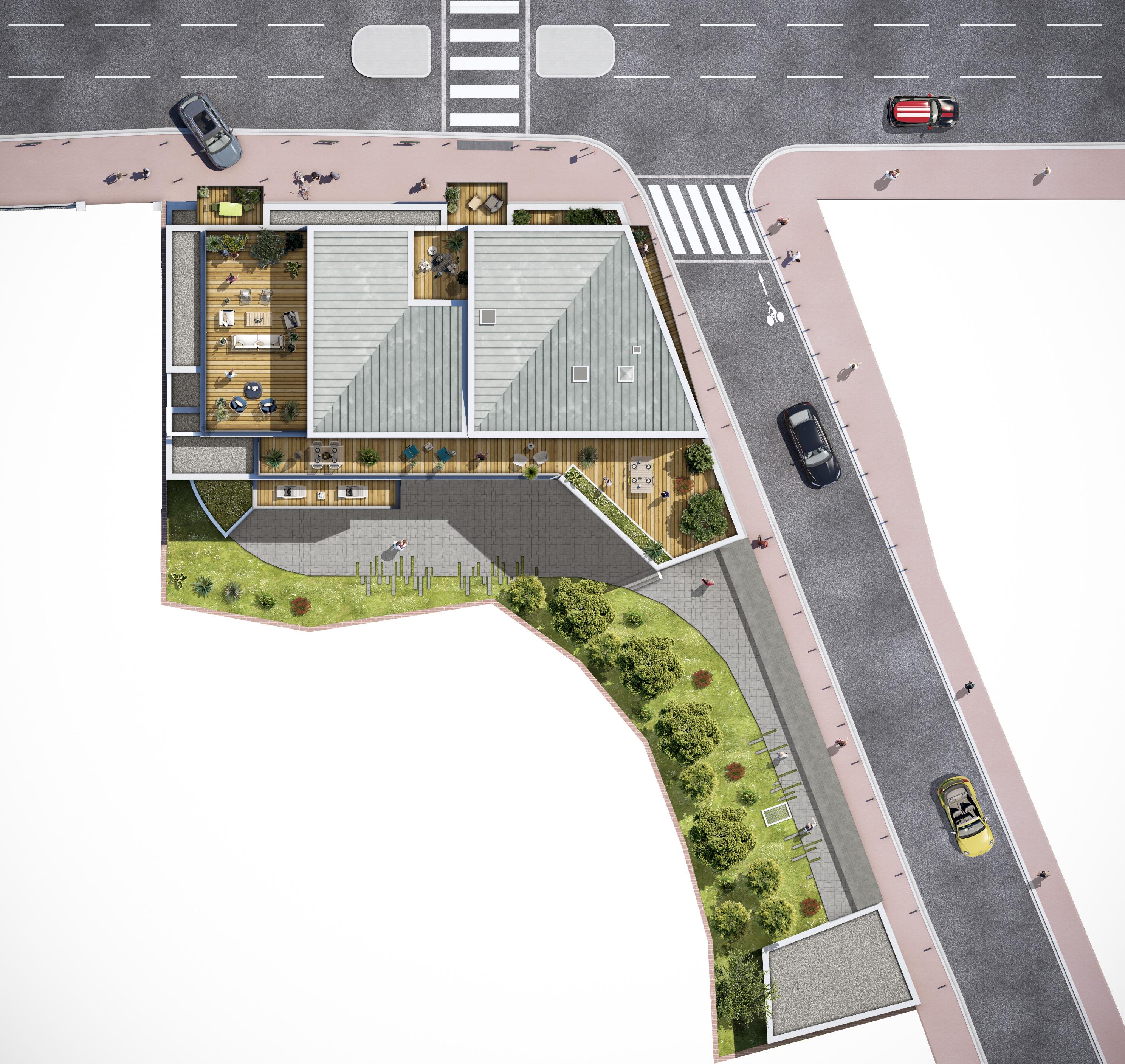 Eclisse Promotion - résidence L'Arte plan 3D